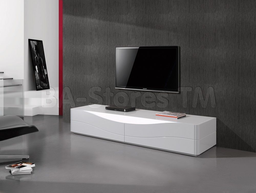 Zao Tv Stand By J M With Images White Tv Stands Furniture Tv
