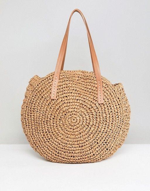 glamorous sac en paille rond fashion sac en paille. Black Bedroom Furniture Sets. Home Design Ideas