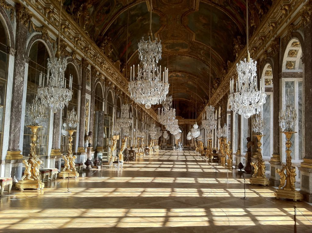 Palace Of Versailles Hall Of Mirrors Travel Places Homes