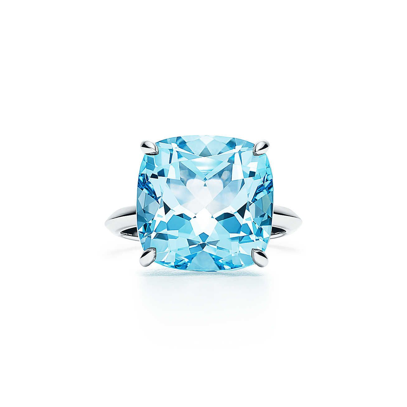 octagon blue image diamond ring engagement rings product topaz white gold and