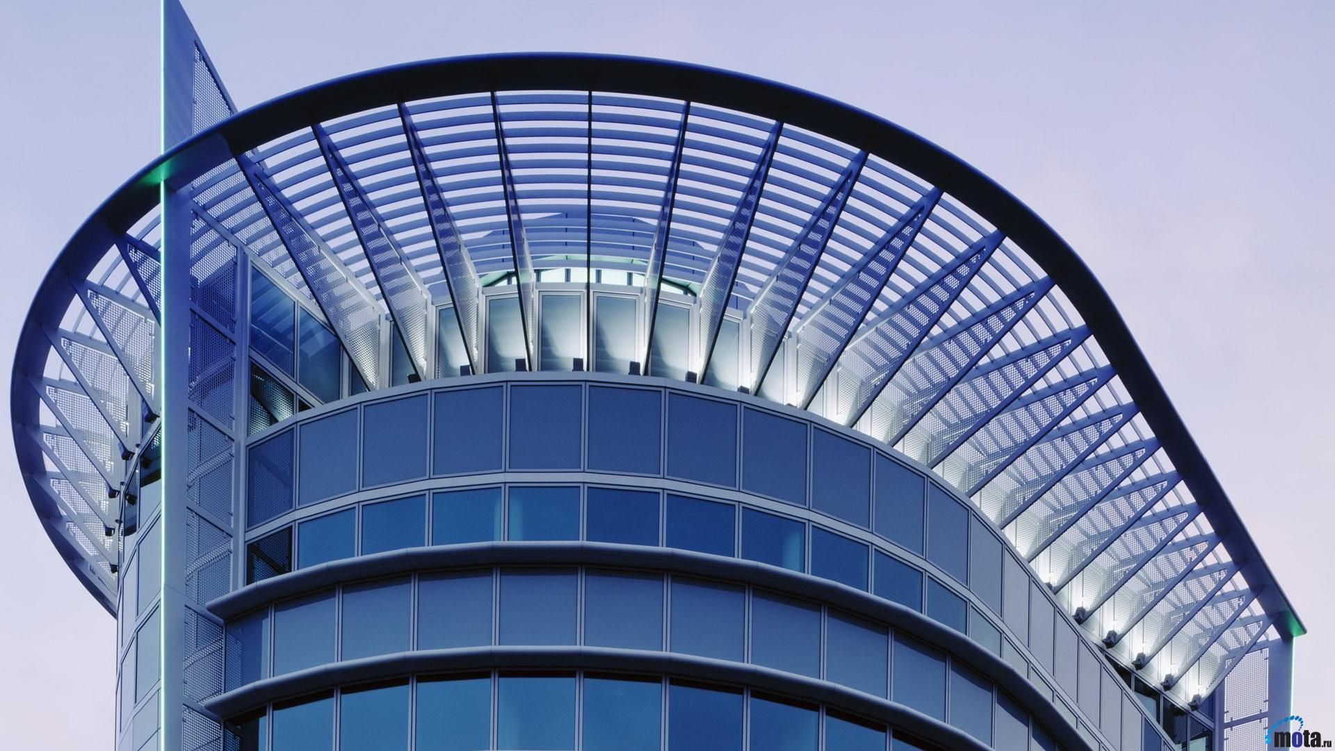 Office-Building in Berlin (modern architecture) free download hd ...