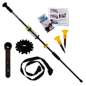 "Ninja Blowgun Gift Set For Sale from AllNinjaGear.com | 18"" Black Blowgun, Pistol Grip, Blowgun Sling, Spike Darts, Dart Quiver, and Blowgun Guide"