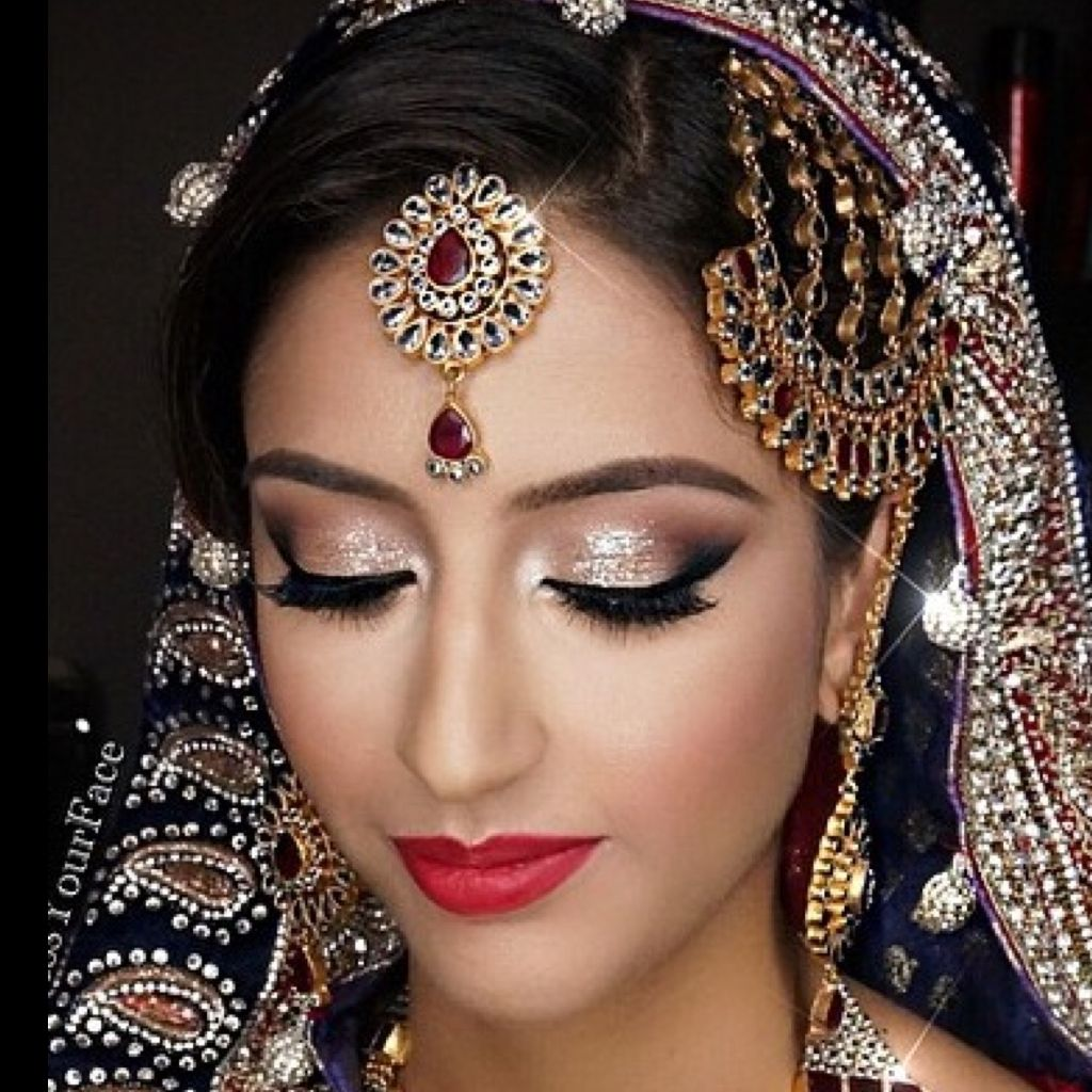 Indian Bridal Eye Makeup: Indian Bridal Makeup, Bridal