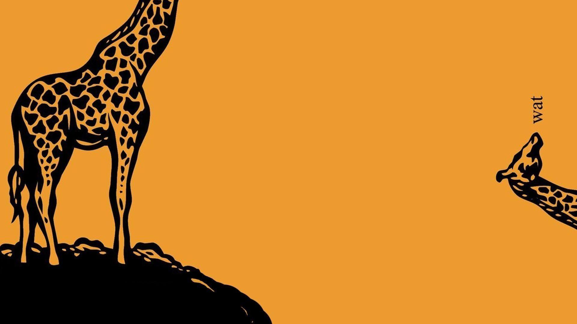 Giraffe Wallpaper Cartoon Made Me Laugh Pinterest Funny