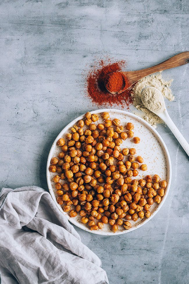 Roasted Chickpeas That Are Actually Crisp