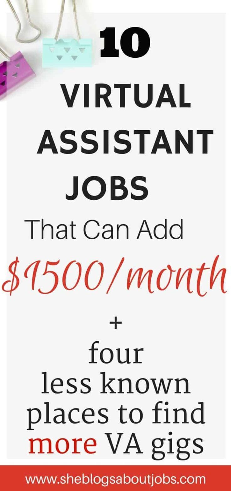 Virtual Assistant Jobs From Home That Pay Really Well