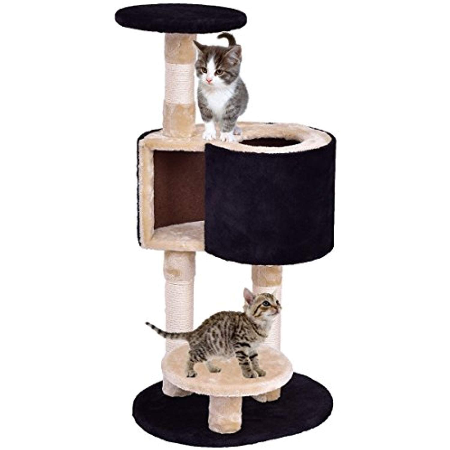 Tangkula Cat Tree Kitten Tower With Scratching Post Kitten Condo Activity Tree You Can Find Out More Details At The Link Kitten Tower Cat Tree Kitten House