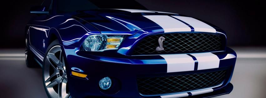 Shelby Gt500 Facebook Page Cover Shelby Gt500 Muscle Car Mobil