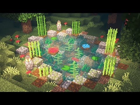 Minecraft | How to Build a Pond