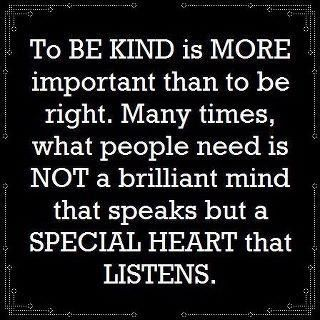 To be kind is more important... | #quotes