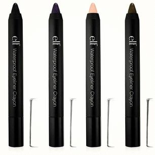 Check out our NEW Studio Waterproof Eyeliner Crayons! Which color will YOU try first?! #newproduct #eyeslipsface http://www.eyeslipsface.com/studio/eyes/eyeliner/waterproof_eyeliner_crayon