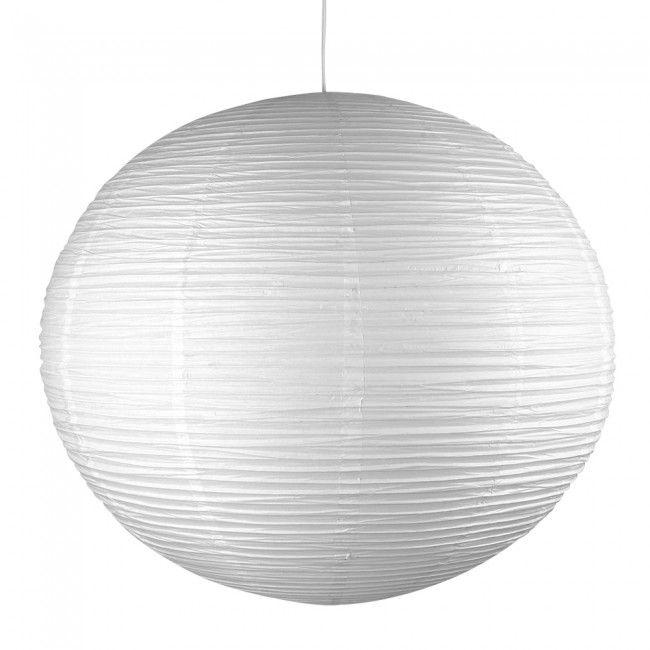 Giant Sphere Shaped Paper Lantern Pendant Shade in White
