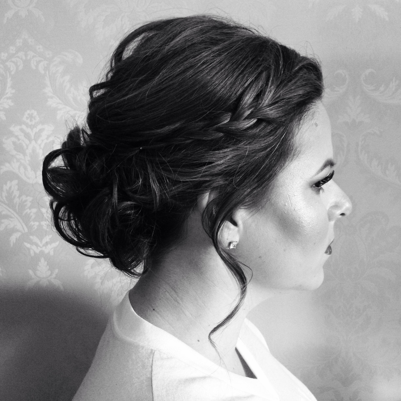 Bun, Bridesmaid Updo, Updo, Wedding Hair, Bride Hair