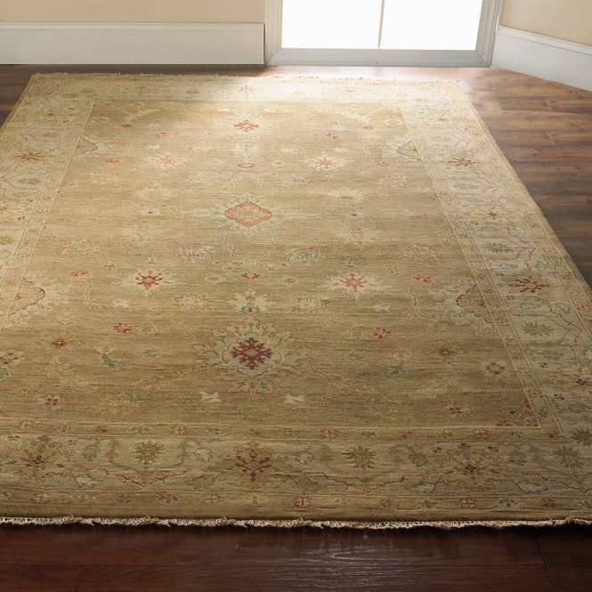 Exquisite Craftsmanship And Amazing Affordability Are Yours In This Traditional Hand Knotted Rug In A Warm Beige Color Palet Handcrafted Rugs Vibrant Rugs Rugs
