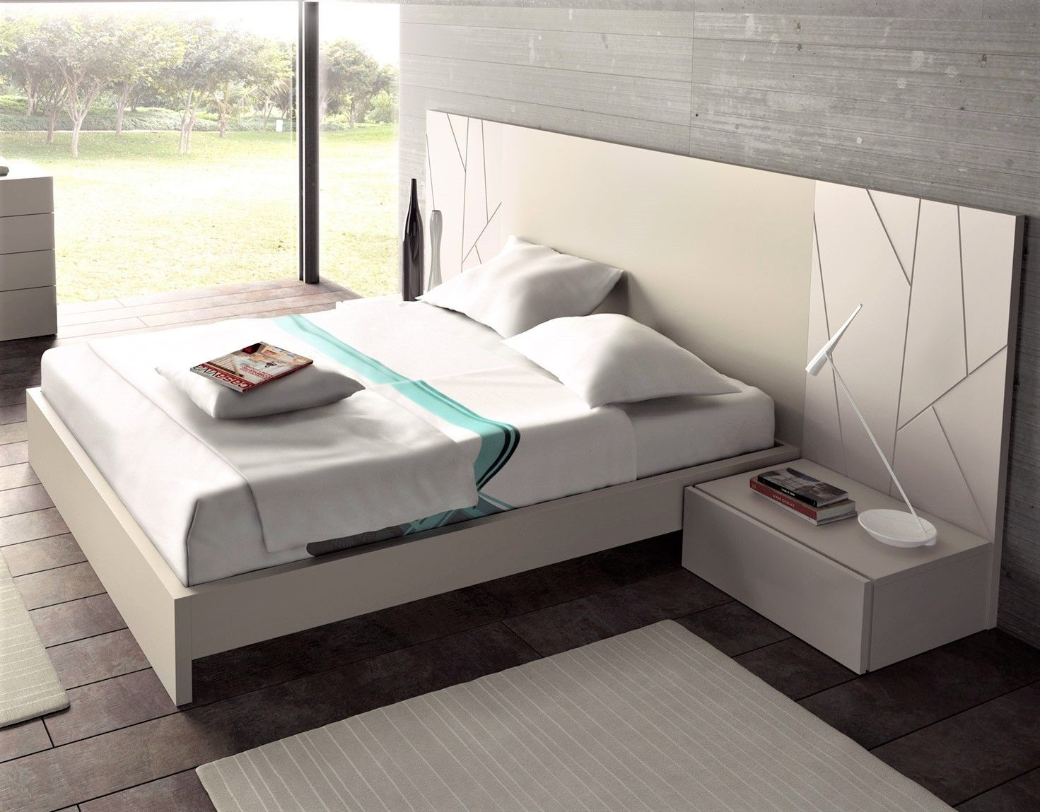 Best Guardia Ada Contemporary Floating Bed In 2019 Bed Design 400 x 300