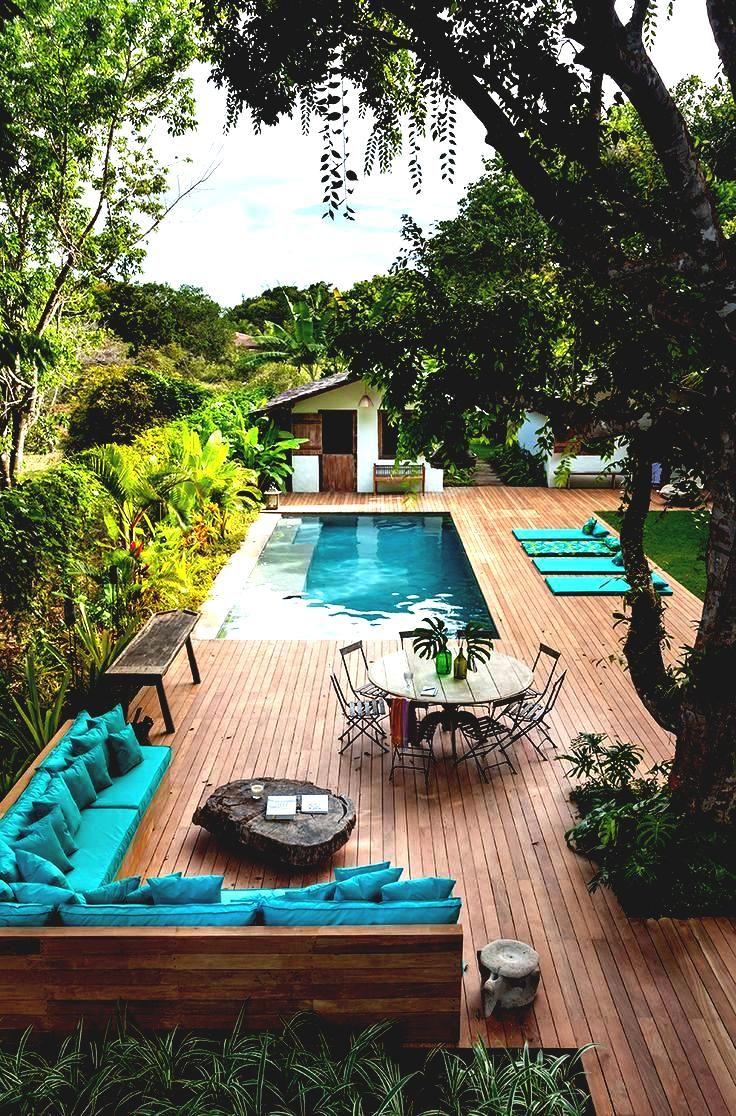 35 Small Backyard Swimming Pool Designs Ideas You'll Love