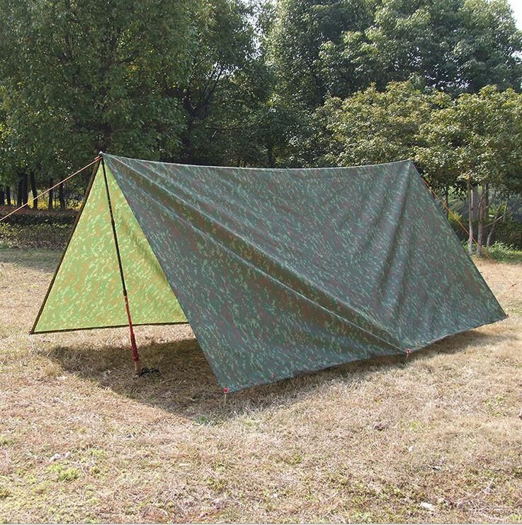 3*3m Camouflage Waterproof Cloth Fabric Tent Material Awning Camouflage Barbecue Ground Cloth & 3*3m Camouflage Waterproof Cloth Fabric Tent Material Awning ...