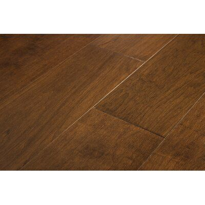 Artiofloors California Sunshine Birch 1 2 Thick X 6 1 2 Wide X Varying Length Engineered Hardwood Flooring Color Pomeror Hardwood Floors Hardwood Floor Colors Flooring