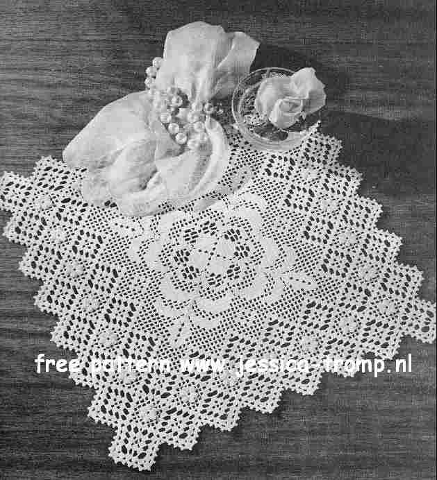 Filet Valentine Doilies Lily Design Book No 201 Lily Mills Company