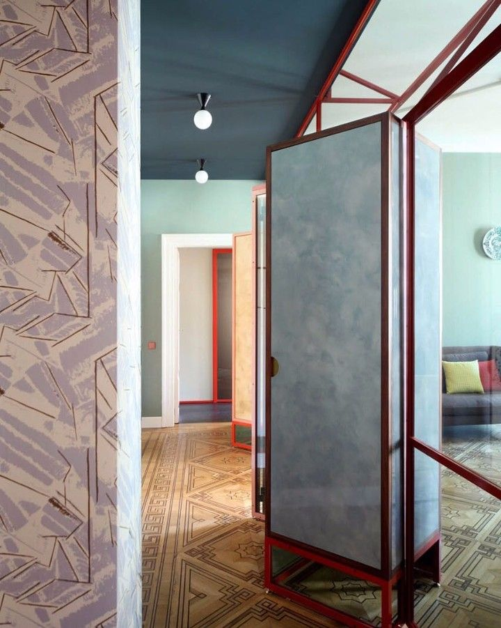 The Project For Our Apartment In Venice Develops Through Diaphragm