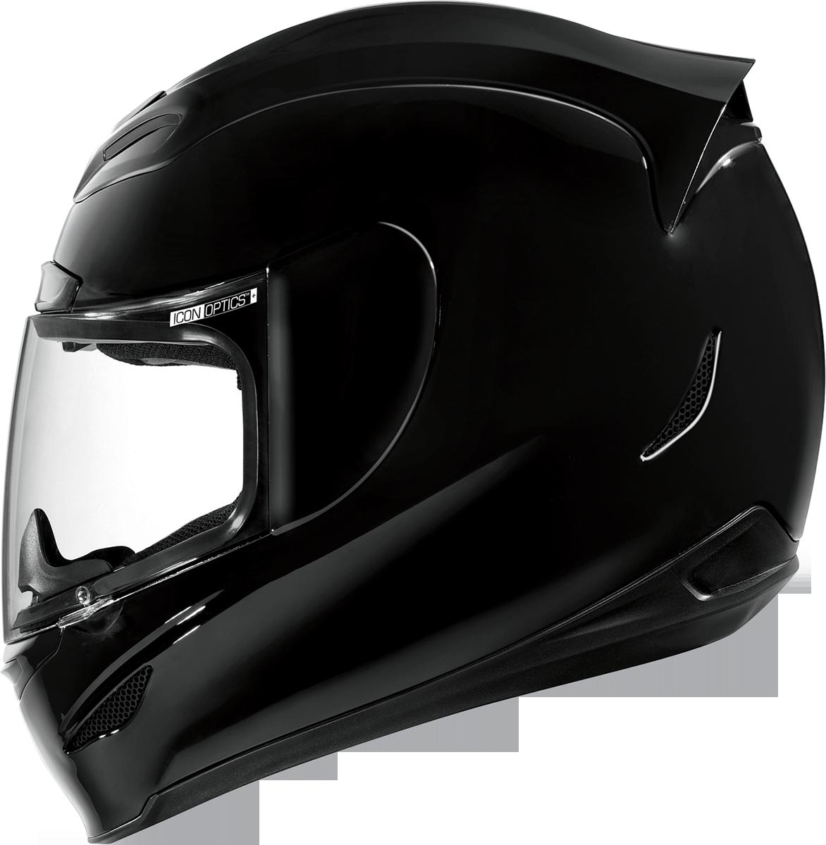 Icon Airmada Solid Helmet White Adult