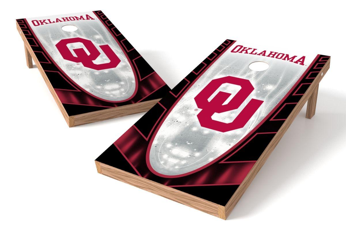 Oklahoma Sooners Cornhole Board Set- Hot http://prolinetailgating.com/