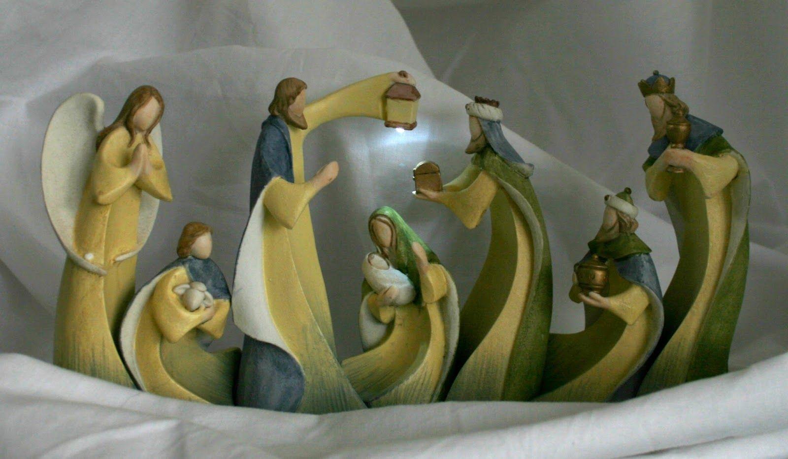 La primera celebraci n navide a en la que se mont un bel n o pesebre para la conmemoraci n del - Belen moderno ...