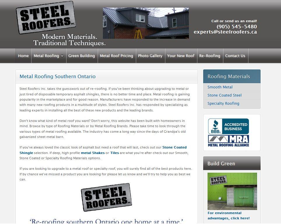 steelroofers.ca Roofing supplies, Roofing, Metal