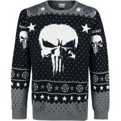Photo of The Punisher Skull Logo WeihnachtspulloverEmp.de