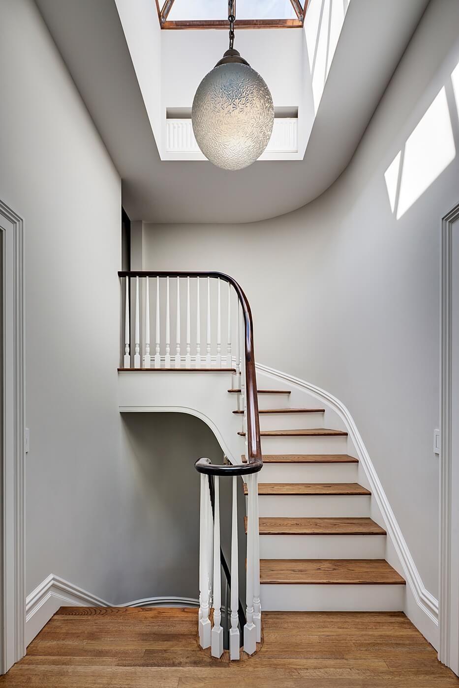 Interior stair railing height decorative countertop support brackets