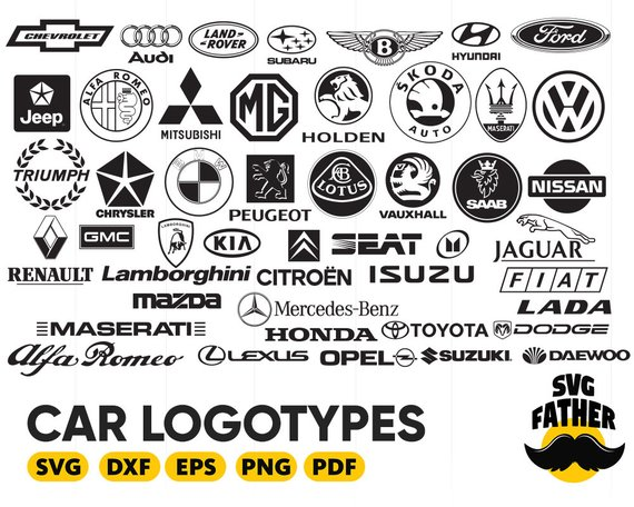 Car Logotypes Svg Car Logo Silhouette Car Logo Clipart Car Logo