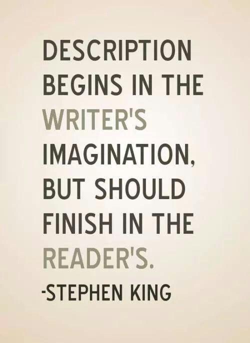 Reader ' s imagination
