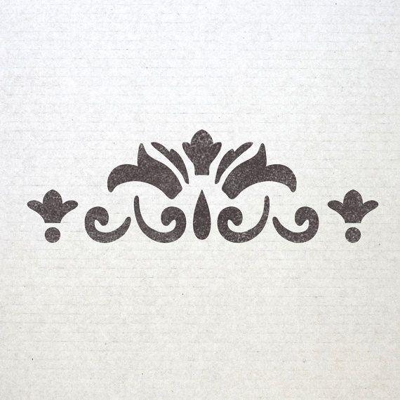 Wall Border Stencils Pattern 007 Reusable Template For Diy Wall Decor Stencils Wall Stencil Pattern Diy Wall Decor