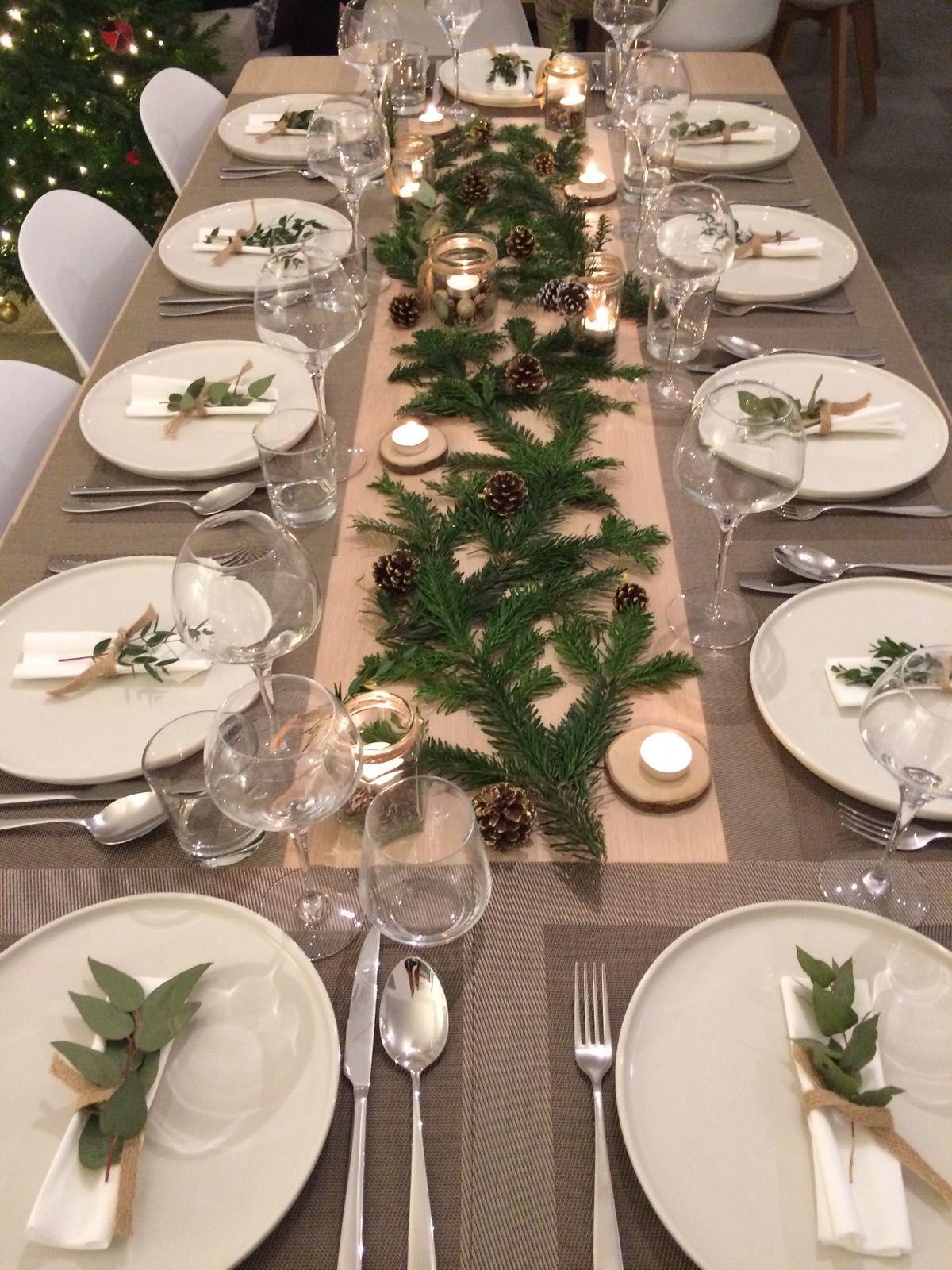 Deco De Noel Originale idées de décoration pour une table de noël originale