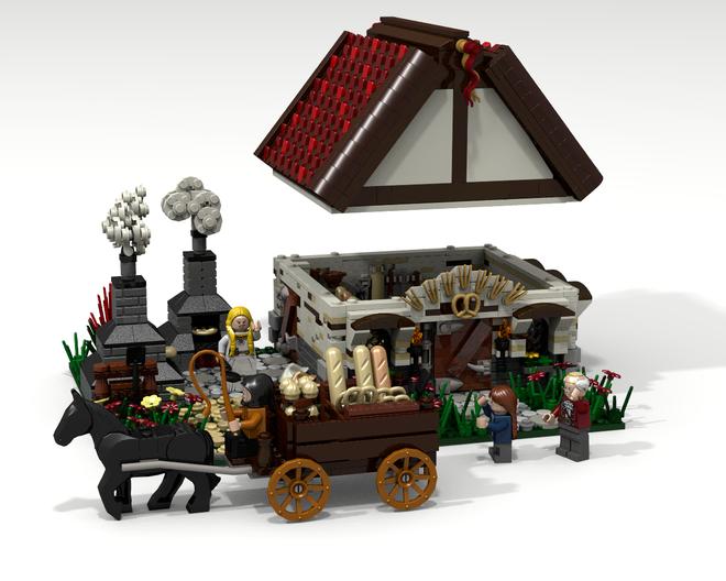 LEGO Ideas - Medieval Bakery