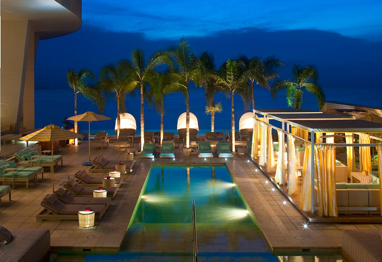 Trump Hotel Panama The Pool Deck Features Five Pools And Private Cabanas That Overlook Ocean