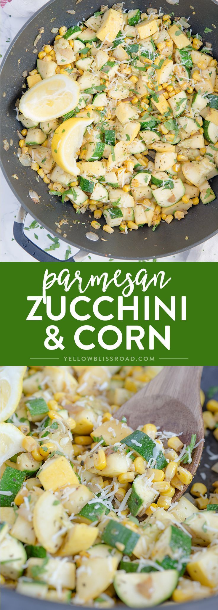 Parmesan Zucchini and Corn images