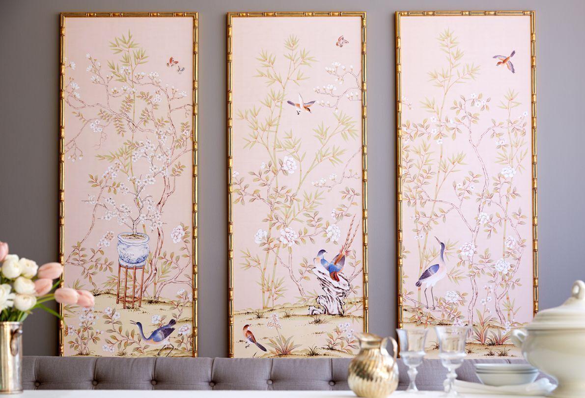 Papel pintado, chinoiserie chic. Papeles de las Indias, De
