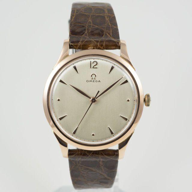 Omega 14k Rose Gold Dress Watch
