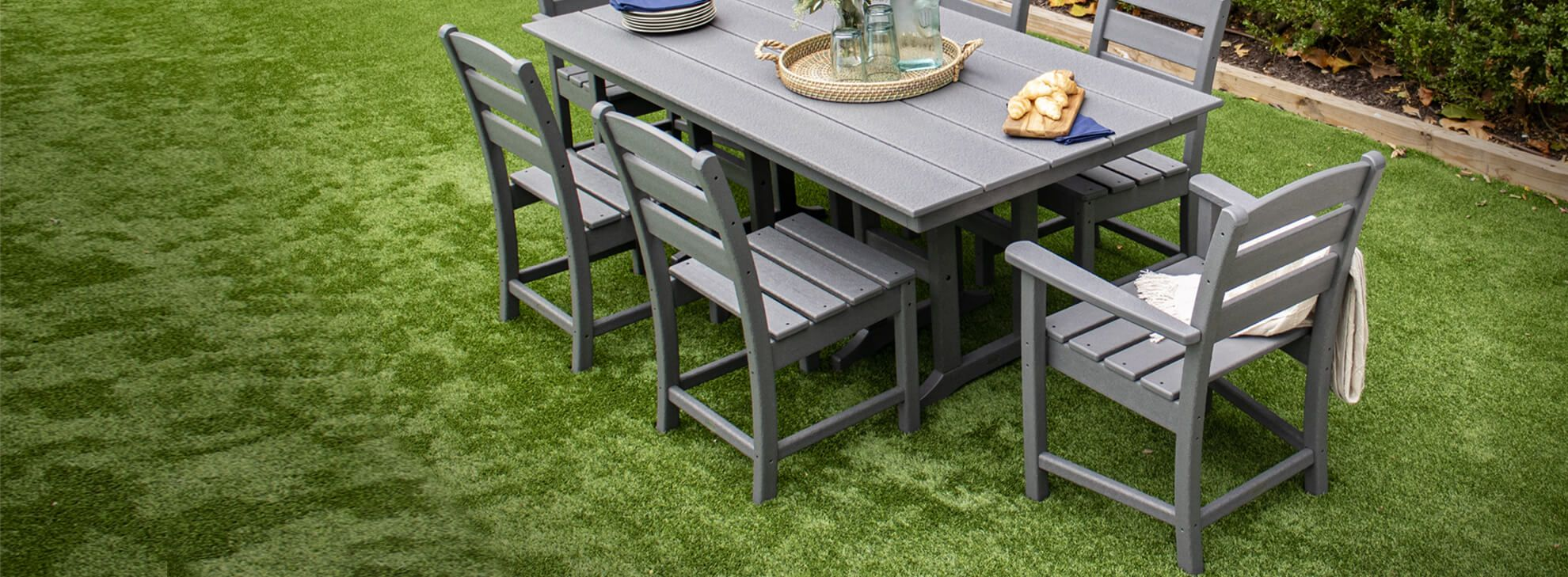 Browse Quick Ship Outdoor Furniture From Polywood And Get Your Items Fast Shop Our Quick Ship Co In 2021 Outdoor Furniture Farmhouse Dining Set Outdoor Furniture Sets