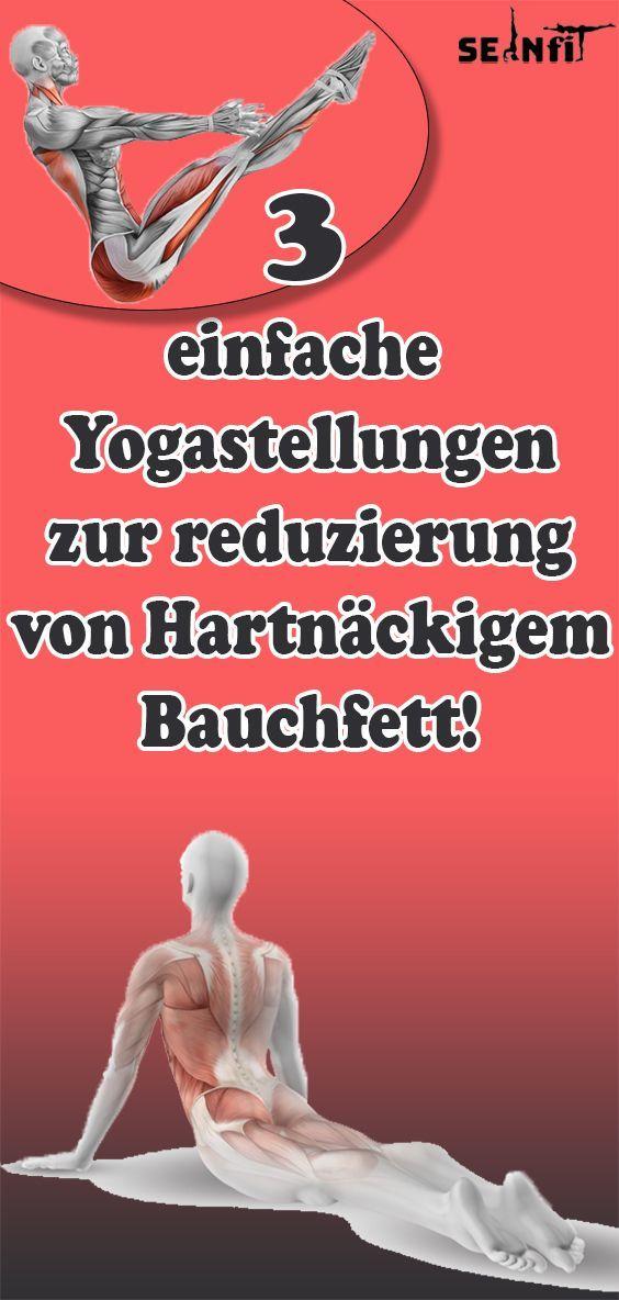Einfache Yogastellungen zur reduzierung von Hartnäckigem Bauchfett!        Einfache Yogastellungen z...
