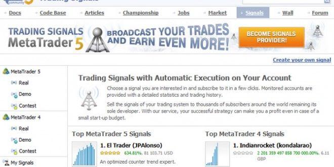 Advantages of MQL5 Signals