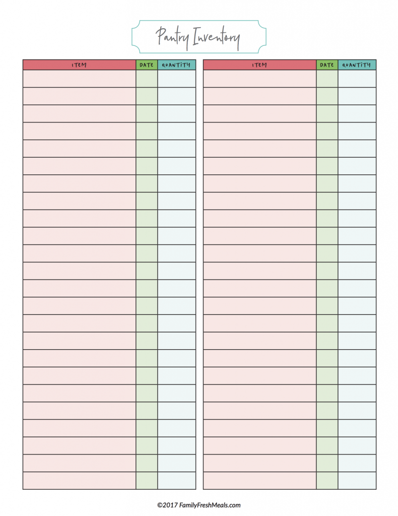 Free Meal Plan Printables Free meal planning printables