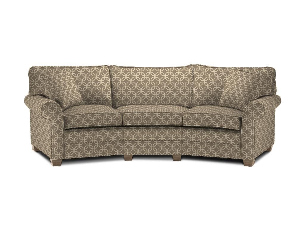 Bennett Roll Arm Conversation Sofa Ethan Allen