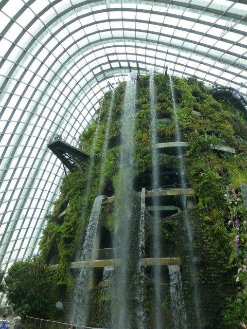 Singapore Gardens Part 2 Singapore Garden Indoor Waterfall