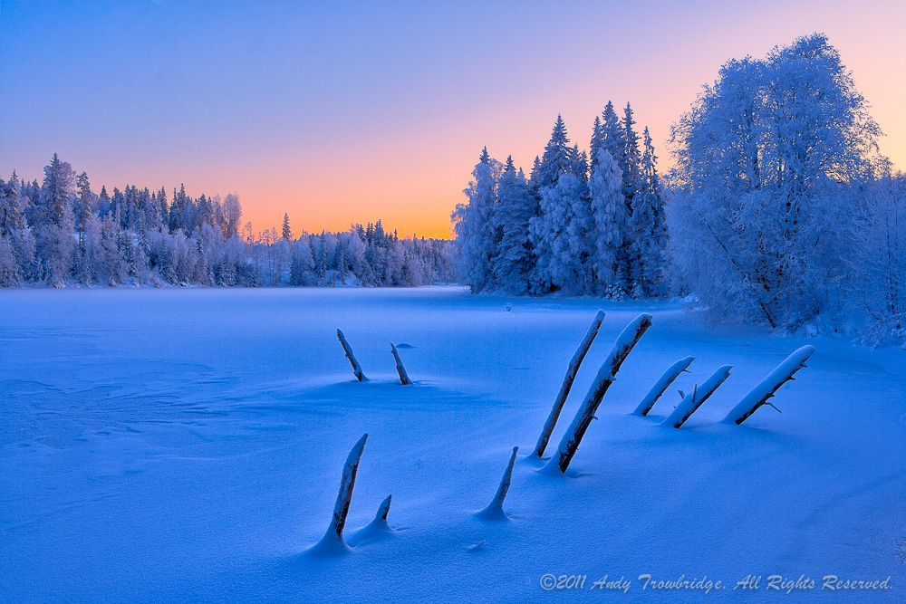 Winter Blues by Andy Trowbridge on 500px