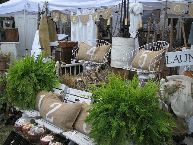 Flea Market Booth Display Ideas