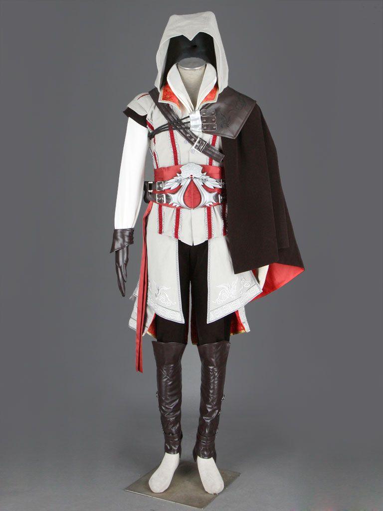 Assassin S Creed Ii Ezio Cosplay White Edition Deluxe