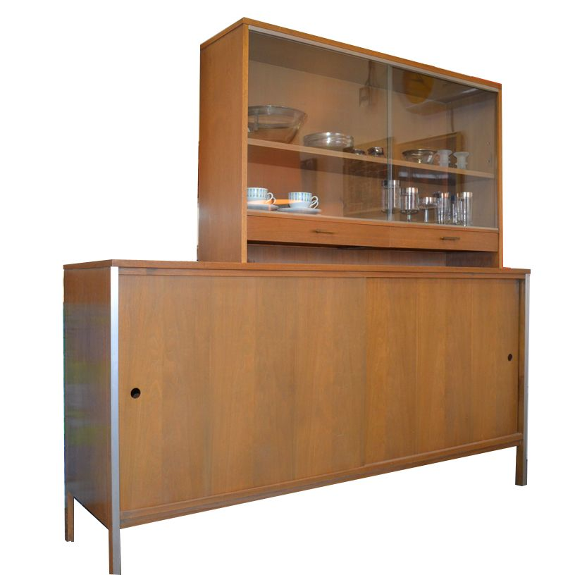 Paul McCobb  American Mid Century Furniture Designer. This Credenza With  China Hutch Top