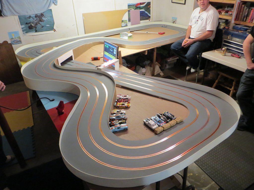 Kelowna Slot Car Club three new wood tracks just completed
